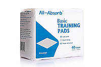 Пеленки для собак  All-Absorb Basic Training Pads 71х86см /40штук
