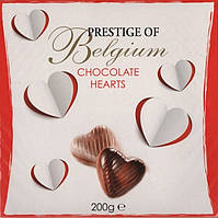 Шоколадные конфеты Prestige of Belgium сердца (200г)