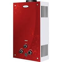 Газовый проточный водонагреватель Dion JSD 10 красная