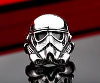 Кольцо серебряное Солдат Штурмовик Звездные Войны Star Wars