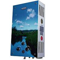 Колонка газовая водонагреватель Dion JSD 10 лагуна