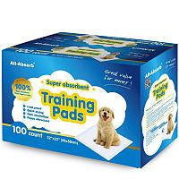Пеленки для собак All-Absorb Regular Training 56х58см /100штук+бесплатная доставка по всей Украине !
