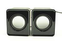 Музыкальные колонки USB 2.0 YX-18/G102, проводные колонки для ноутбука компьютера