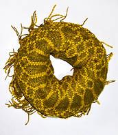 Шарф-Хомут трансформер, dress RL121_желт