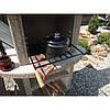 Камин-барбекю садовый «Рио» угловой, фото 5