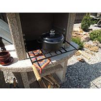 Камин барбекю «Сицилия» с дверцами, фото 2