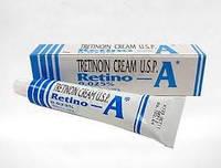 Ретинол / Третиноин крем от прыщей и морщин / Tretinoin  Retino - A /  0,025 % / 20 гр.