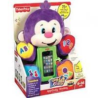Интерактивная игрушка Умная обезьянка Fisher-Price (англоязычная)