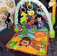 Розвиваючий музичний килимок для новонароджених Baby Tilly 7181
