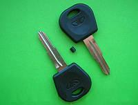 Daewoo - заготовка ключа под чип и ТРХ, DWO5RT