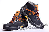 ECCO Biom model 377 - 2  -  зимние ботинки из натуральной кожи