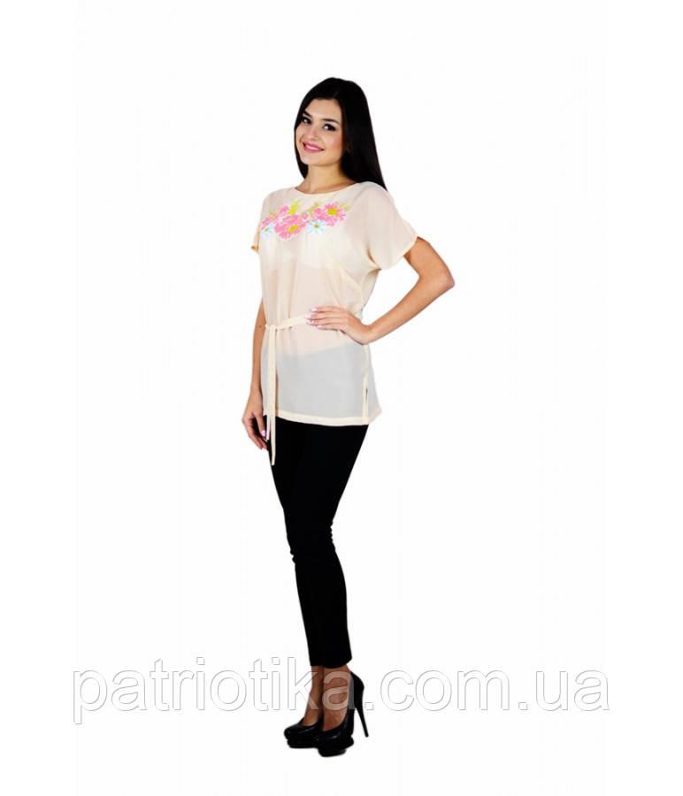 Рубашка вышитая женская М-311-6 | Сорочка вишита жіноча М-311-6