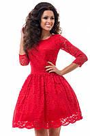 Шикарное вечернее  пышное платье с фатиновым подъюбником красное