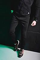 Зимние мужские штаны черные Pobedov Pride Trousers Black