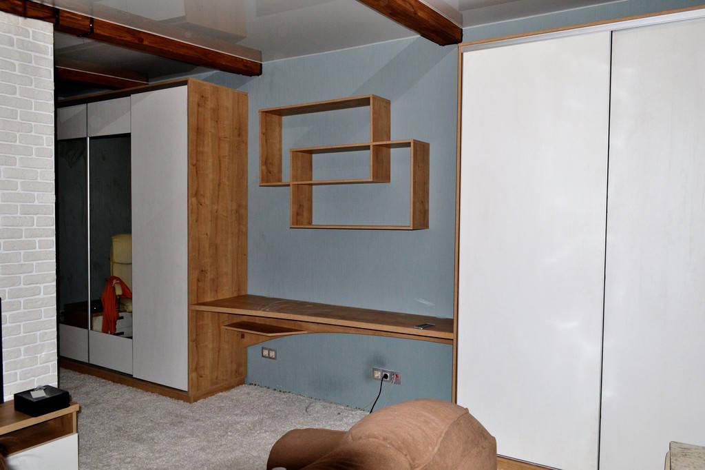 Монтаж мебели на новом обЪекте завершен