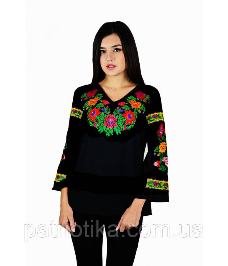 Рубашка вышитая женская М-228 | Сорочка вишита жіноча М-228