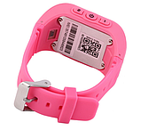 Дитячі розумні годинник Q50 з GPS трекером і функцією телефону (Pink), фото 2
