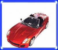 Портативная колонка машинка WS 599  красный