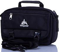 Практичная мужская спортивная сумка на плечо ONEPOLAR(ВАНПОЛАР) W5078-navy