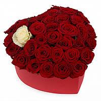 """Коробка из роз """"Флёр"""""""