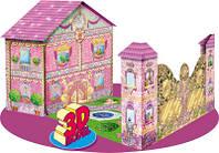 """Книга детская """"Книжка-игрушка. Дворец маленькой принцессы"""" (русск.)"""