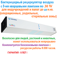 Бактерицидный рециркулятор BactoSfera ORBB 30х3 MAX EFFECT