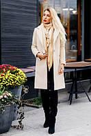"""Женское демисезонное кашемировое пальто """"VB"""" с карманами (3 цвета)"""