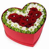 """Коробка из цветов """"Богиня"""""""