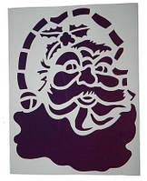Набор Разных Новогодних Трафаретов Шаблонов, 5 шт/уп, 30х40 см