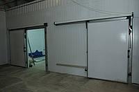 Откатные двери холодильных камер