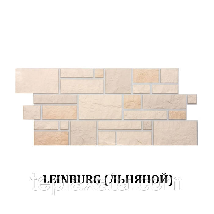 Фасадная панель DOCKE BURG Камень Льняной (0,43 м2)