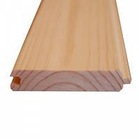 Вагонка деревянная сосновая двухсторонняя 80 Х 13 Х 3м