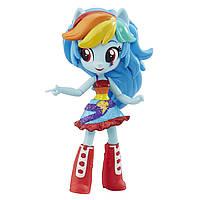 Май литл пони шарнирная мини-кукла Девушки Эквестрии Радуга Рейнбоу Дэш. Оригинал Hasbro