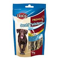"""Лакомство для собак со вкусом бекона Trixie """"Sushi Twisters"""" (рыба ) 60 гр"""