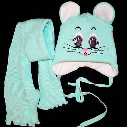 Компелект шапка шарф 50