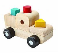 """Деревянная игрушка """"Пазл-сортер - грузовик"""", PlanToys"""