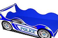 """Детская кровать машина """" Драйв"""" Полиция"""