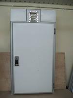 Двери под монорельс для холодильных камер