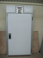 Двери под подвесной путь для холодильных камер