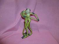 Пара лягушек фигурка Танцоры 14,5 см высота