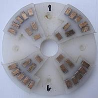 Диск алмазный, полимерный полировать гранит, мрамор, на станках с водой  160x8x29 № 0, 1, 2, 3, 4 1