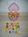 Деревянные игрушки Шнуровка MD 0344 фрукты овощи, фото 2