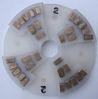 Диск алмазный, полимерный полировать гранит, мрамор, на станках с водой  160x8x29 № 0, 1, 2, 3, 4 2