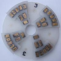 Диск алмазный, полимерный полировать гранит, мрамор, на станках с водой  160x8x29 № 0, 1, 2, 3, 4 3