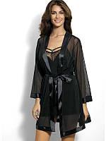 Неотразимый черный халат