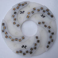 Диск алмазный, полимерный полировать гранит, мрамор, на станках с водой  250x7x73 № 0, 1, 2, 3, 4 3