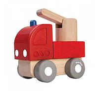 """Деревянная игрушка """"Пожарная мини-машина"""", PlanToys"""