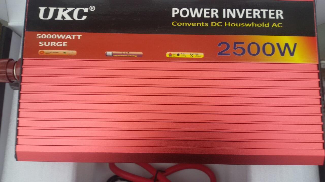Преобразователь авто инвертор  с Функцией плавного пуска  UKC 12V-220V  5000 Вт  с  USB