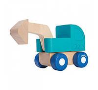 """Деревянная игрушка """"Мини - экскаватор"""", PlanToys"""
