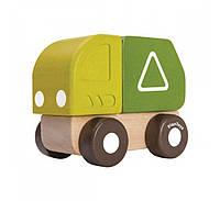 """Деревянная игрушка """"Мини - мусоровоз"""", PlanToys"""